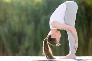 forward bend stretch